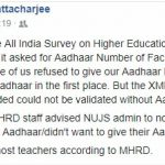 Did Aadhaar help remove 80,000 ghost teachers? Or were real teachers excluded?