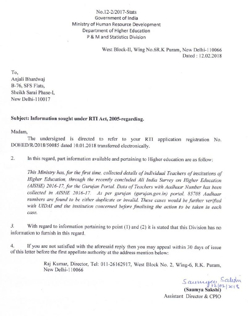 anjali-bharadwaj-rti-80000-ghost-teachers